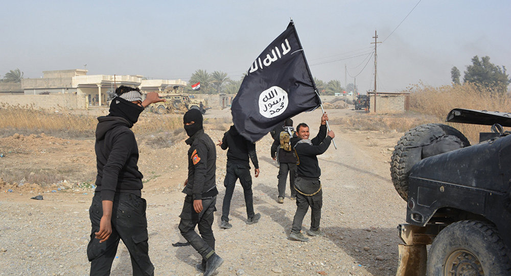 Combattenti ISIS in Iraq