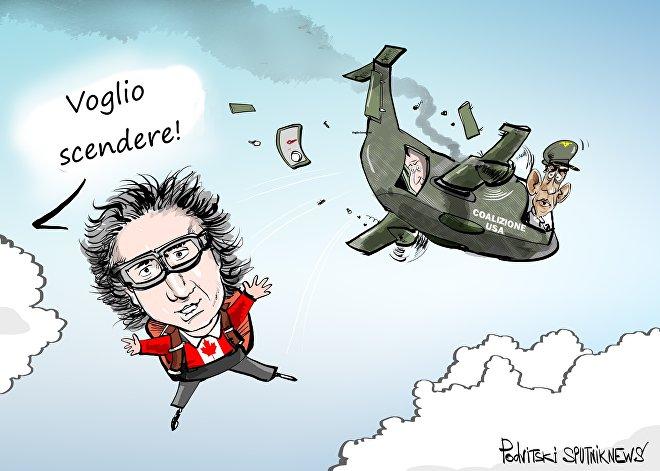 Trudeau vuole scendere