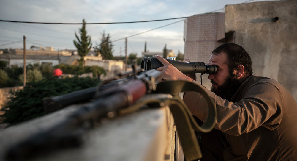 Combattente dell'opposizione siriana