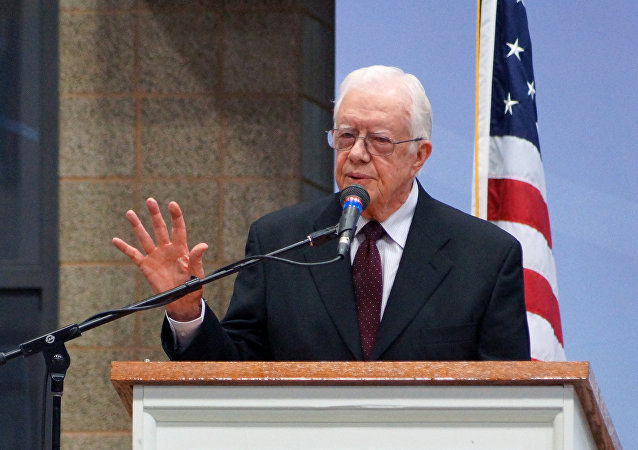 Ex presidente USA Jimmy Carter