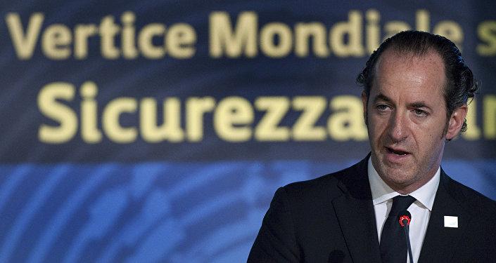 Luca Zaia, presidente della regione Veneto (foto d'archivio)