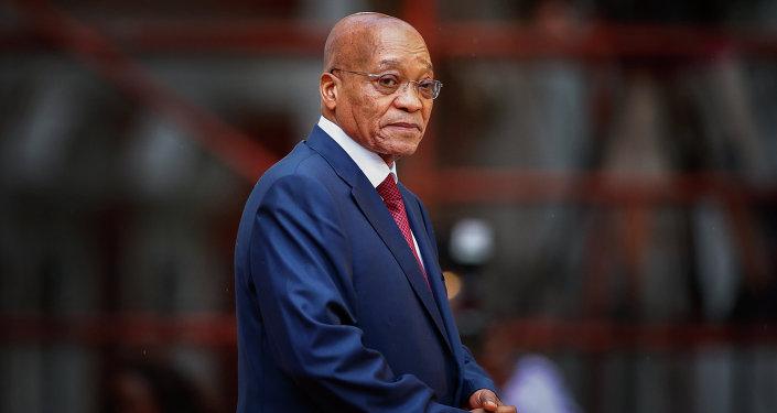 Ex presidente sudafricano Jacob Zuma