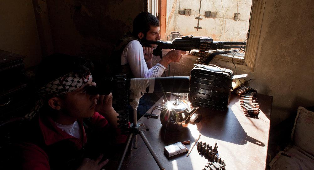 Combattenti dell'opposizione siriana (foto d'archivio)