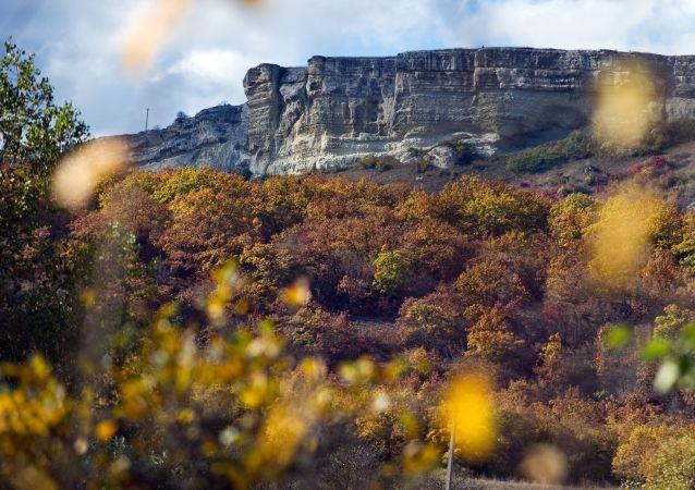L'autunno in Crimea.