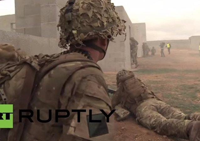 Esercitazioni NATO Trident Juncture ad Almagro in Spagna