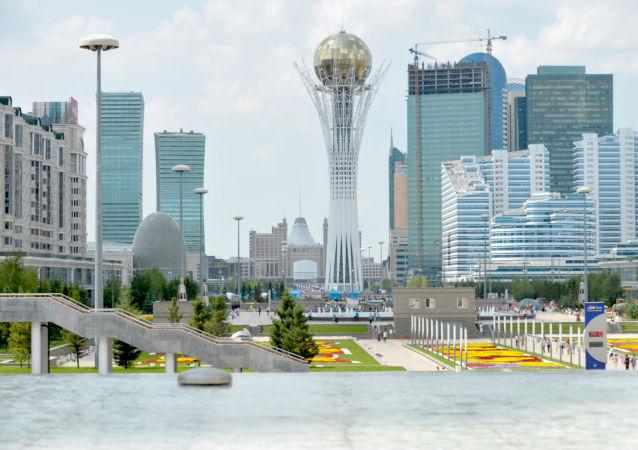 Astana, la torre Bayterek