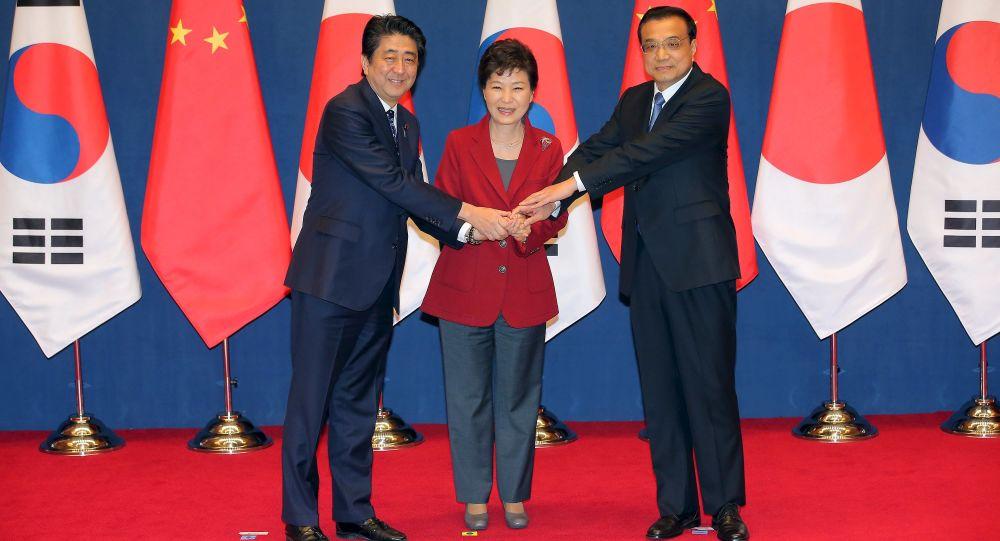 Incontro tra leader di Cina, Giappone e Corea del Sud (foto d'archivio)