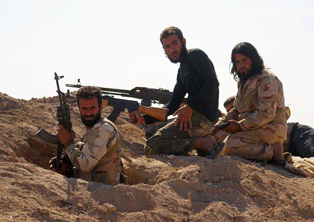 Ribelli dell'Esercito Libero Siriano