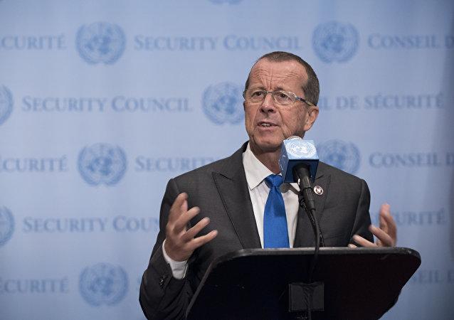 Martin Kobler, rappresentante del Segretario Generale dell'ONU per la Libia