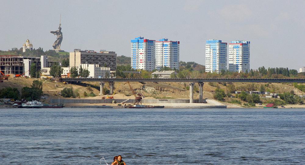 Veduta di Volgograd