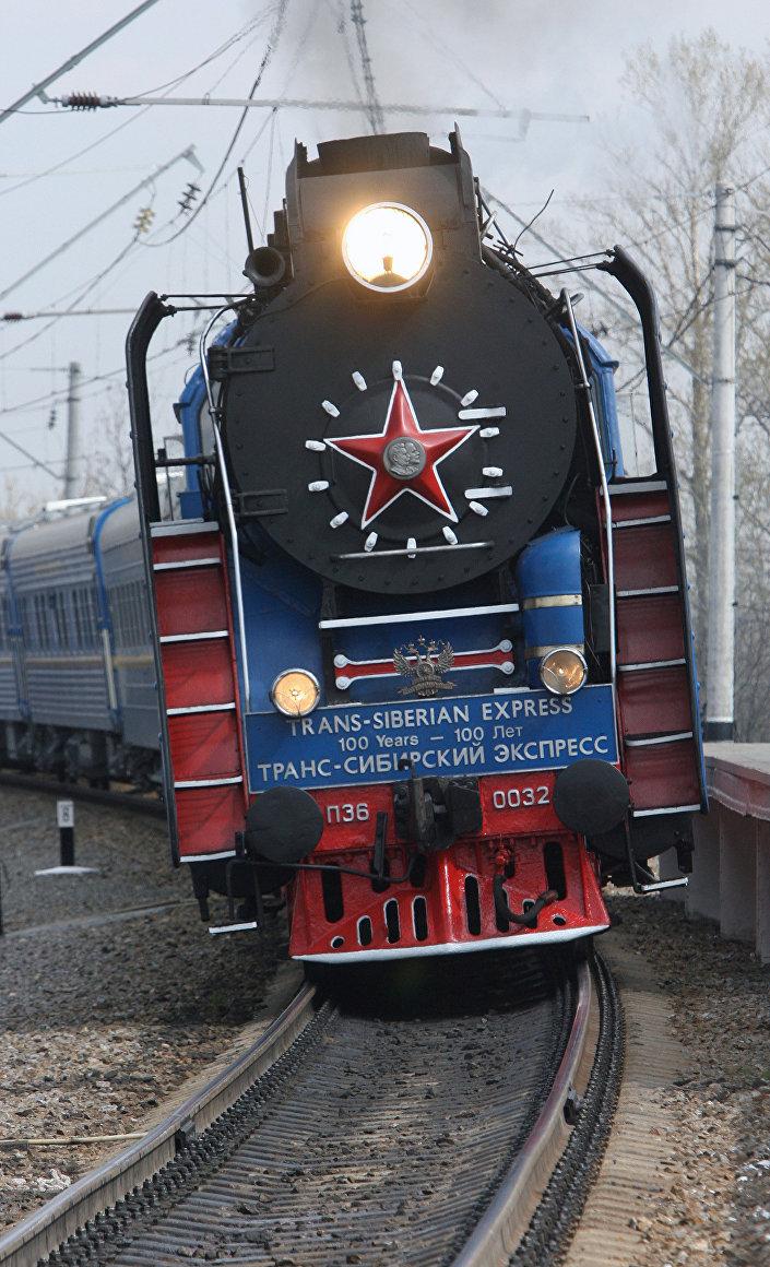 Locomotiva della Transiberiana
