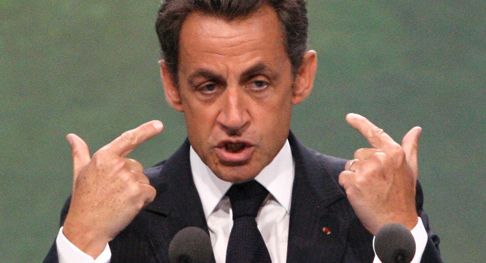 L'ex presidente francese Nicholas Sarkozy