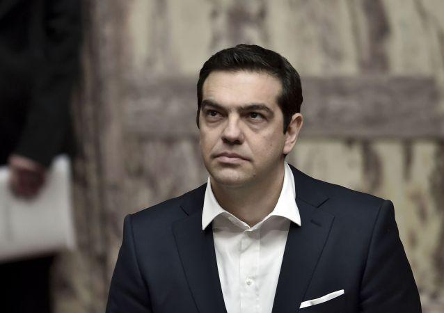 Primo misitstro greco Alexis Tsipras