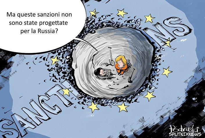 Sanzioni dell'UE contro la Russia