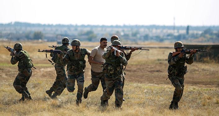 Esercitazioni militari russo-indiane Indra (foto d'archivio)