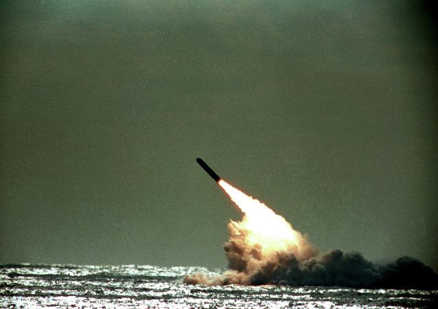 Lancio del missile Trident (foto d'archivio)