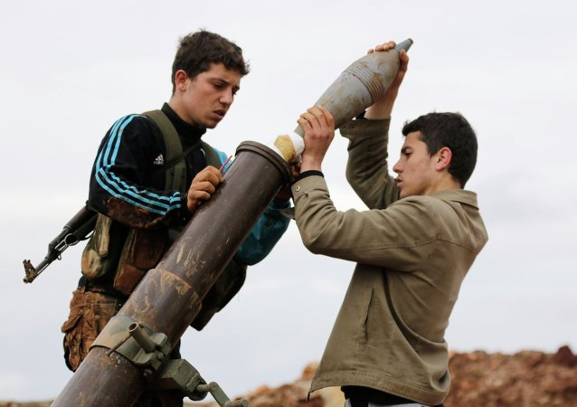 Combattenti del Fronte Al-Nusra in Siria