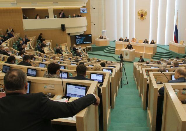 Aula del Consiglio della Federazione (foto d'archivio)