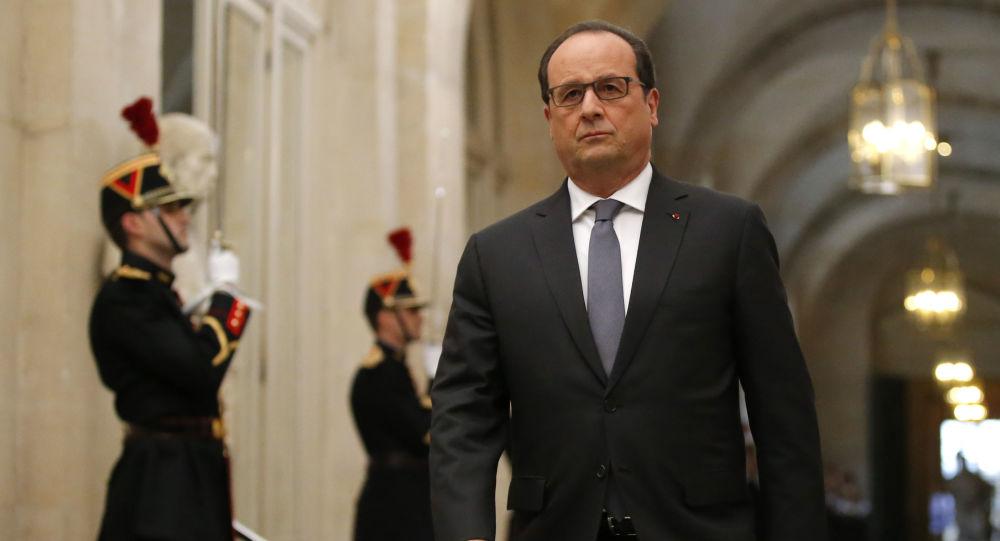 Francois Hollande a Versailles