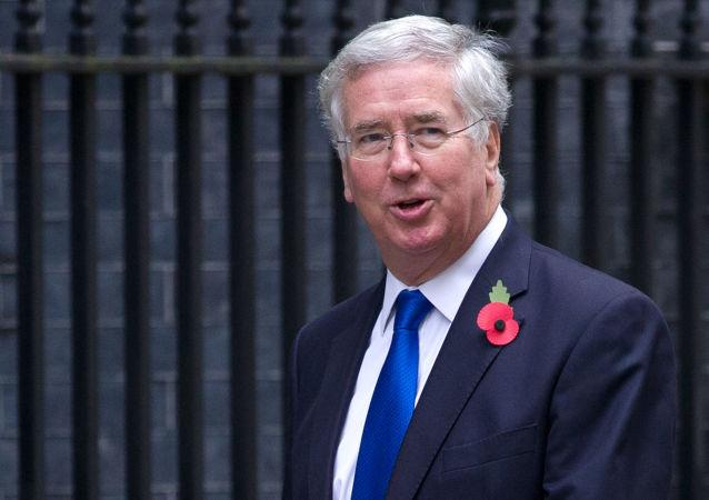 Ministro della Difesa della Gran Bretagna Michael Fallon