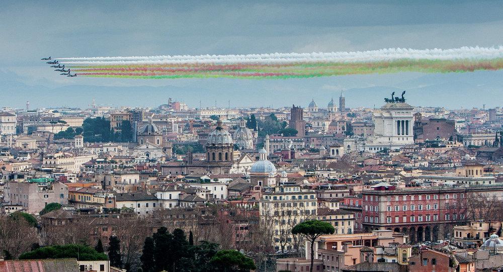 Le Frecce Tricolori in Italia