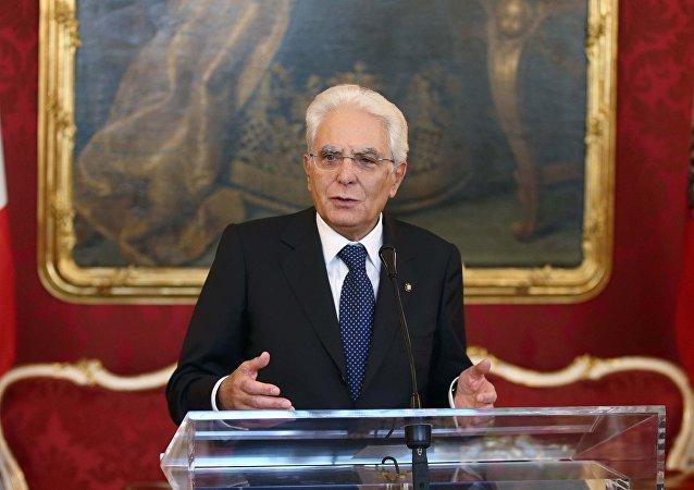 Sergio Mattarella, presidente italiano