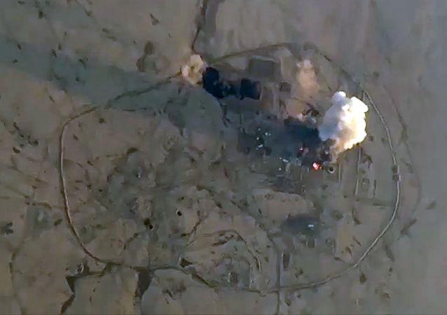 Bombardamenti contro ISIS in Siria