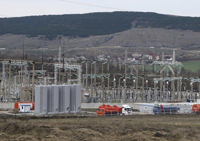 Centrali elettriche in Crimea