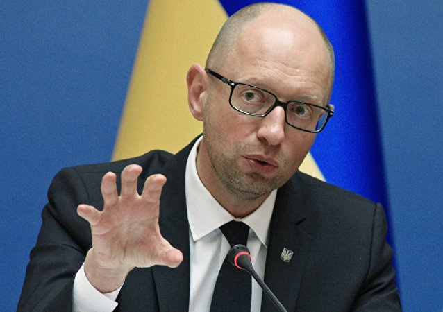 Premier ucraino Arseniy Yatsenyuk