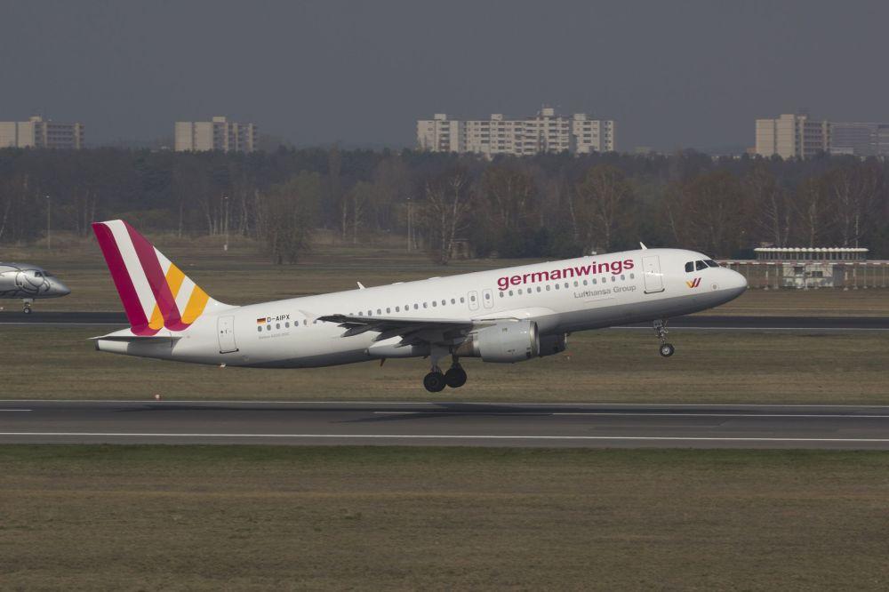 Un Airbus A-320 della Germanwings