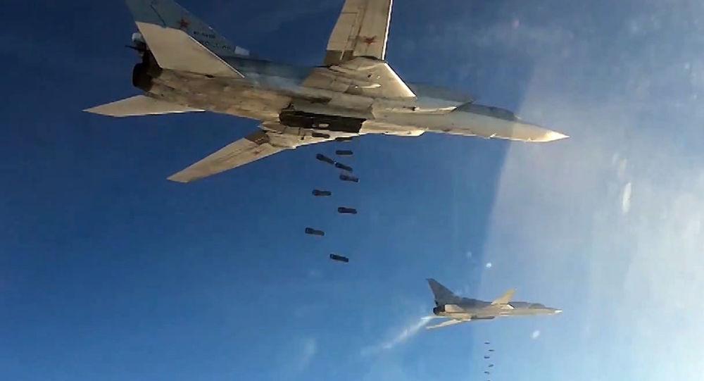 Bombardieri Tu-22 russi in Siria