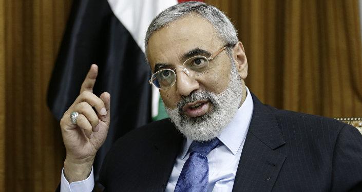 Ministro dell'Informazione della Siria Omran al-Zoubi