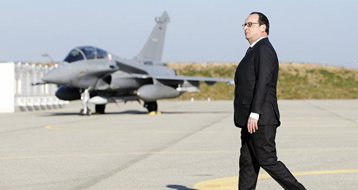 Il presidente francese Francois Hollande