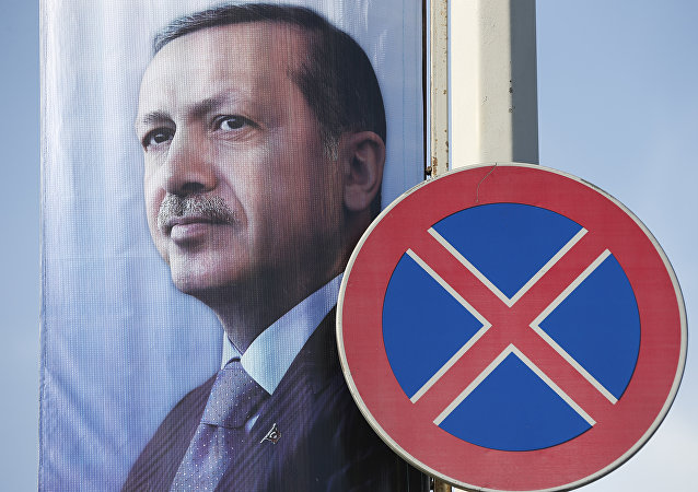 Presidente della Turchia Recep Tayyip Erdogan