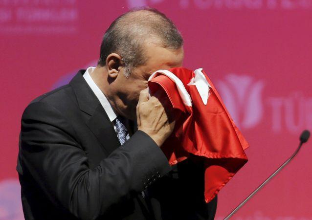 Presidente della Turchia Erdogan