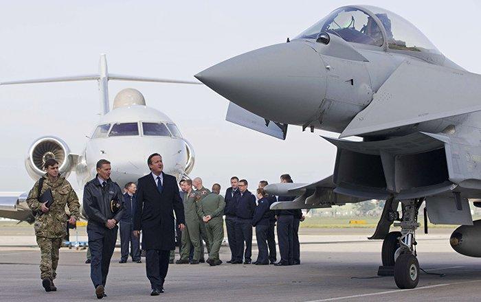 Un caccia delle Royal Air Force, Gran Bretagna