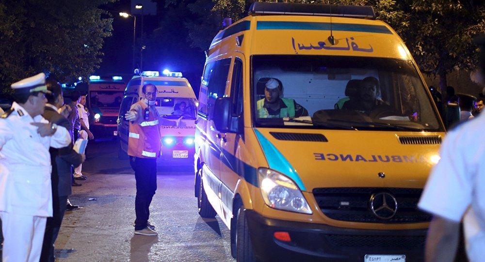 Ambulanza in Egitto