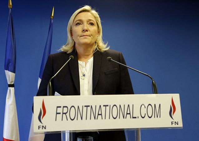 Marine Le Pen (foto d'archivio)