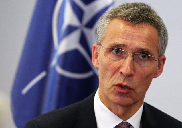 Jens Stoltenberg,segretario NATO (foto d'archivio)