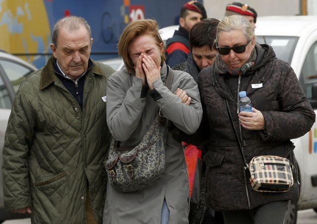 Le famiglie di passeggeri di Airbus A320