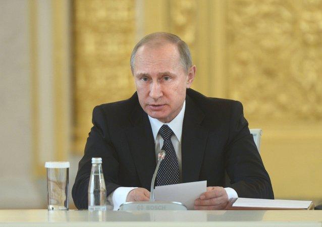 Vladímir Putin, presidente della Russia