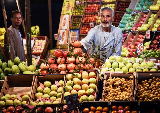 Mercato in Egitto (foto d'archivio)