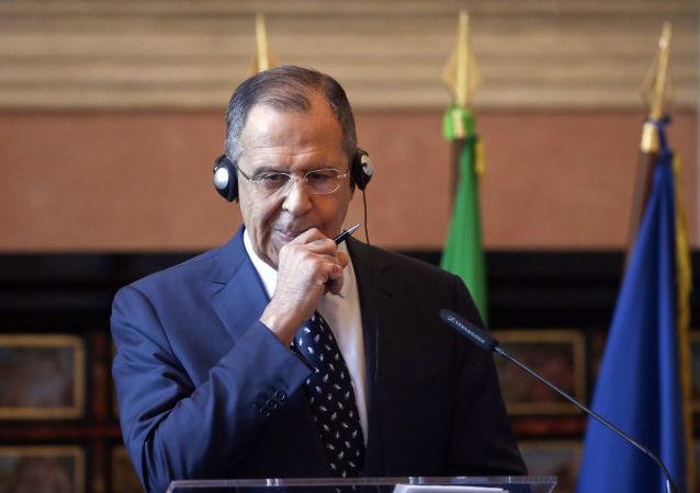 Sergey Lavrov a Roma