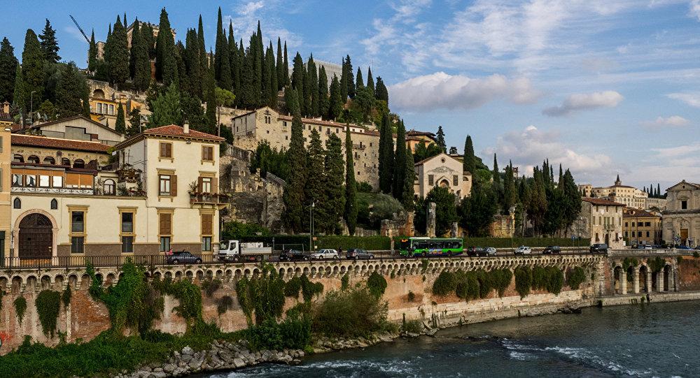 La veduta su Verona