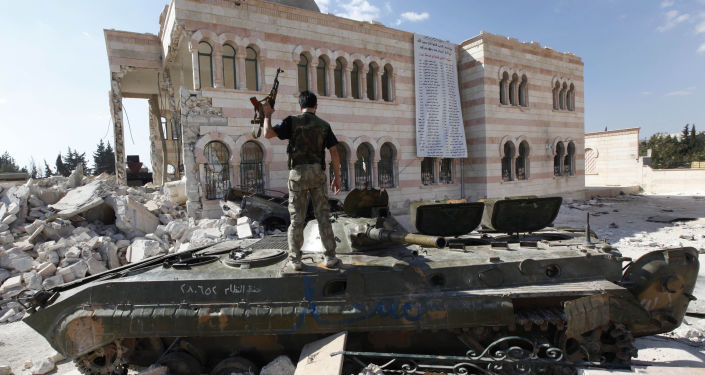 Combattente dell'opposizione siriana (foto d'archivio)
