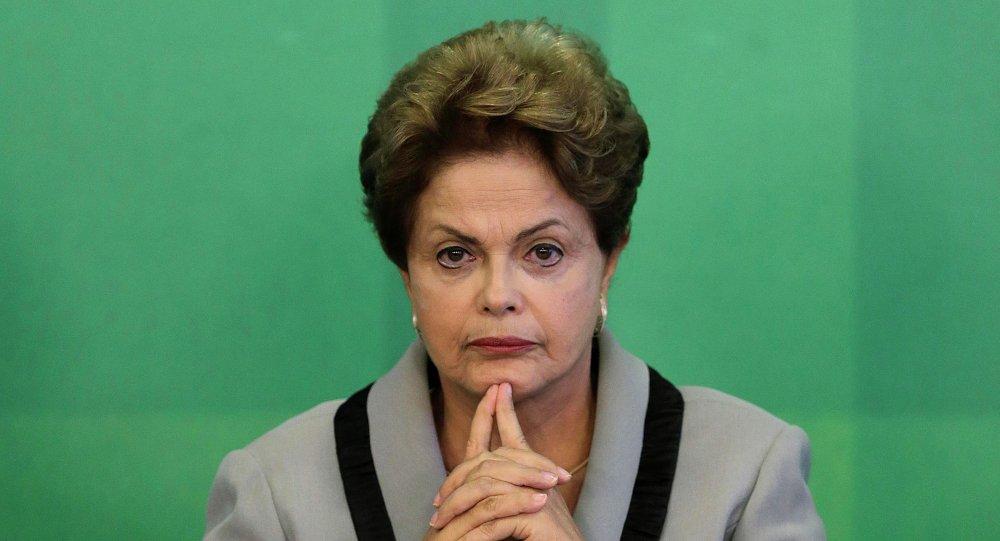 Dilma Rousseff, presidente decaduta del Brasile