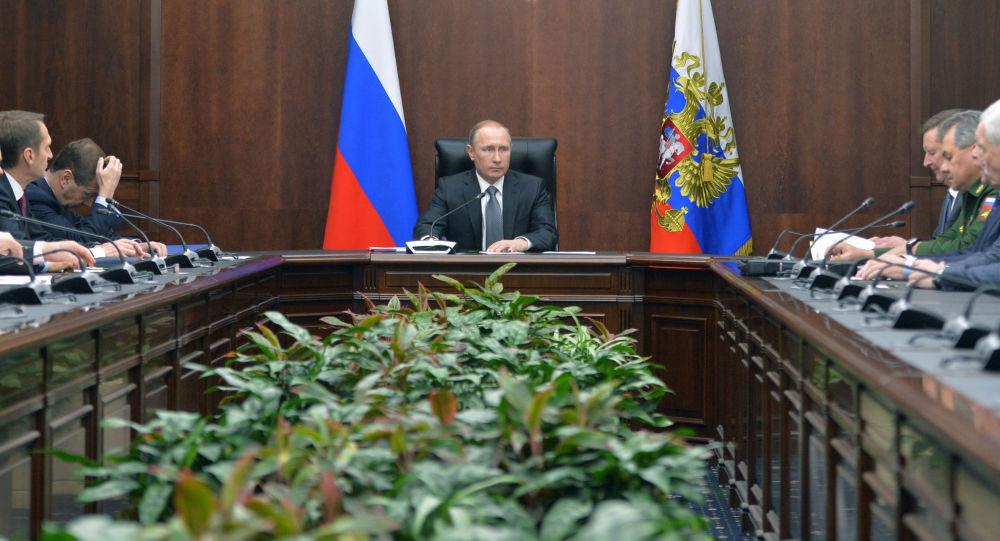 Putin al Consiglio di Sicurezza della Federazione Russa