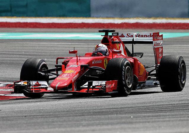 Sebastian Vettel (Ferrari), Gp Malesia