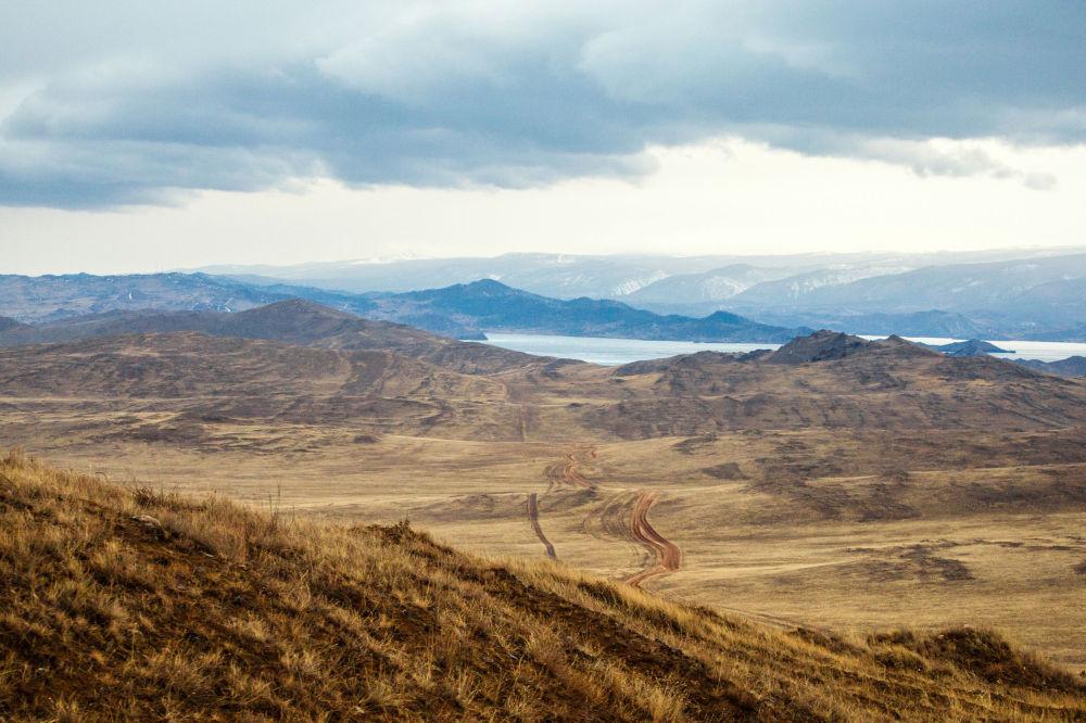 Veduta dell'isola di Olkhon.