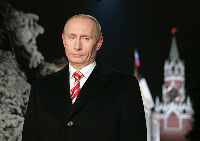Putin Wishes Russians Happy New Year